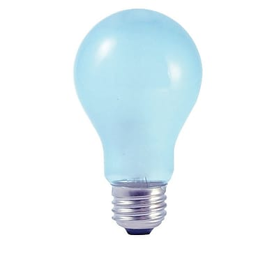 Bulbrite Incandescent (INC) A19 53W Dimmable Frost True Daylight 2900K Soft White Light Bulb, 6 Pack (616353)