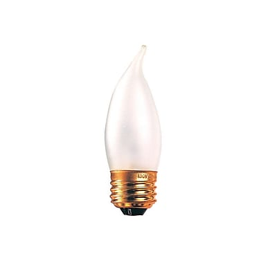 Bulbrite Incandescent (INC) CA10 40W Dimmable Frost 2700K Warm White Light Bulb, 50 Pack (409040)