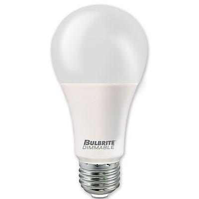 Bulbrite LED A21 3/8/16W 3000K Soft White Light Bulb, 2 Pack (774115)