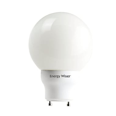 Bulbrite Compact Fluorescent (CFL) G25 15W 2700K Warm White Light Bulb, 3 Pack (509735)