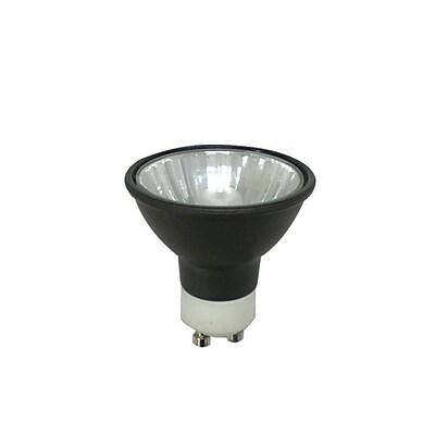 Bulbrite Halogen MR16 50W Dimmable Black 2900K Soft White 36D Light Bulb, 5 Pack (638050)