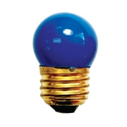 Bulbrite Incandescent (INC) S11 7.5W Dimmable Ceramic Blue Light Bulb, 25 Pack (702307)