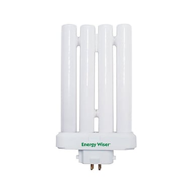 Bulbrite Compact Fluorescent (CFL) T5 27W Plug In 6500K Daylight Light Bulb, 4 Pack (524625)