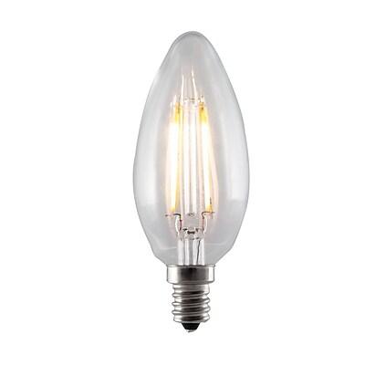 Bulbrite LED B11 4.5W Dimmable 2700K Warm White Light Bulb, 4 Pack (776656)