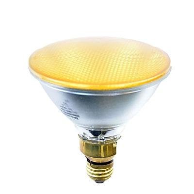 Bulbrite Halogen PAR38 90W Dimmable 2900K Yellow Light Bulb, 2 Pack (683908)