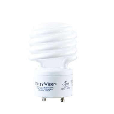 Bulbrite Compact Fluorescent (CFL) T2 23W 2700K Warm White Light Bulb, 4 Pack (509709)