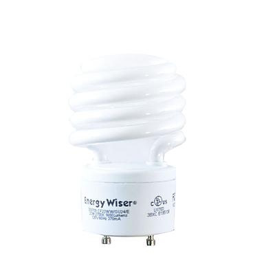 Bulbrite Compact Fluorescent (CFL) T2 23W 2700K Warm White Light Bulb, 4 Pack (509709)