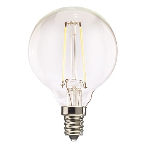 Bulbrite 40w Equivalent Warm White Light G16 Dimmable Led: Bulbrite LED G16 4.5W Dimmable 2700K Warm White Light Bulb