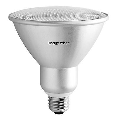 Bulbrite Compact Fluorescent (CFL) PAR38 23W 3000K Soft White Wide Flood Light Bulb, 2 Pack (514503)