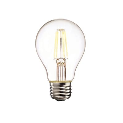 Bulbrite LED A19 5W Dimmable 2700K Warm White Light Bulb, 2 Pack (776572)