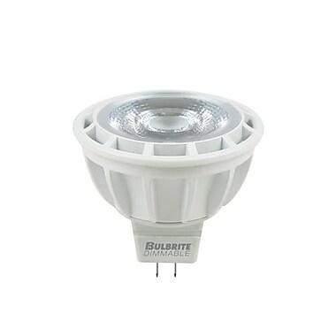 Bulbrite LED MR16 8.5W Dimmable 2700K Warm White Light Bulb, 1 Pack (771312)