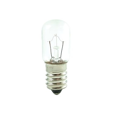Bulbrite Incandescent (INC) T5.5 3W Dimmable 2700K Warm White Light Bulb, 50 Pack (715007)