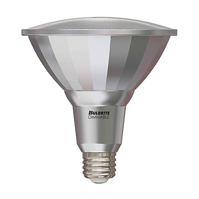 Bulbrite LED PAR38 15W Dimmable Outdoor Rated 2700K Warm White 25D Light Bulb, 2 Pack (772740)