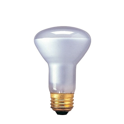 Bulbrite Incandescent (INC) R20 45W Dimmable 2700K Warm White Flood Light Bulb, 6 Pack (220045)