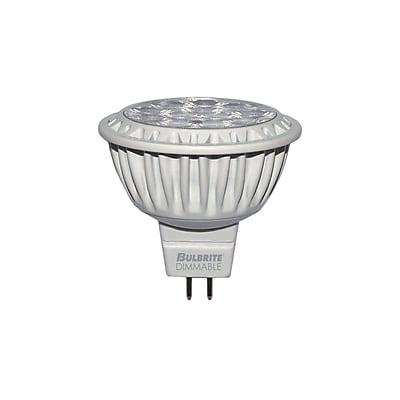 Bulbrite LED MR16 9W Dimmable 2700K Warm White 25D Light Bulb, 2 Pack (771190)