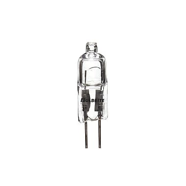 Bulbrite Halogen T3 20W Dimmable Clear 2900K Soft White Light Bulb, 10 Pack (650020)