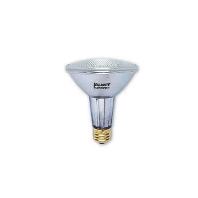 Bulbrite Halogen PAR30LN 60W Dimmable 2900K Soft White Wide Flood Light Bulb, 6 Pack (683458)