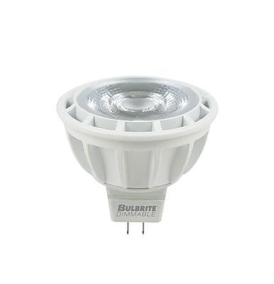 Bulbrite LED MR16 8W Dimmable 3000K Soft White Light Bulb, 1 Pack (771305)