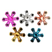 Hexagon-Vane Fidget Spinner, Assorted Colors