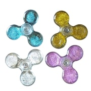 Flowing Sand Tri-Vane Fidget Spinner, Assorted Colors