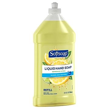 Softsoap Pulltop Liquid Hand Soap, Refreshing Citrus, 32 Fl. oz. (US07337AX)