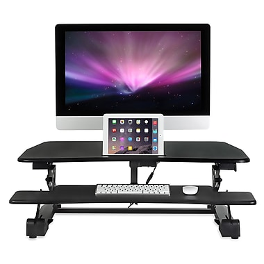 High Rise Sitstand Desk Converter Stand And Sit Desk