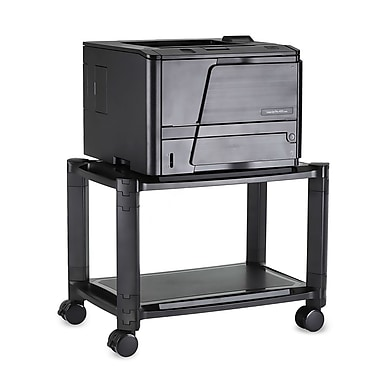 Mount-It! Printer Stand With Wheels Rolling Printer Cart, 44 Lbs Capacity