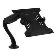 Mount-It! Laptop Desk Mount, Full Motion Notebook Holder With Spring Arm