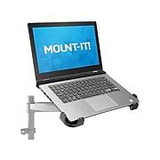 """Mount-It! 12""""-17.32"""" x 9.25"""" Steel Laptop Tray, Black (MI-5352T)"""