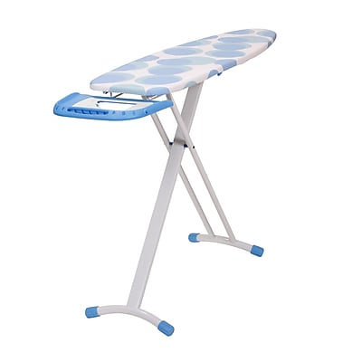 Household Essentials Euro Arch T-Leg Ironing Board With Retractable Iron Rest (816017-1)