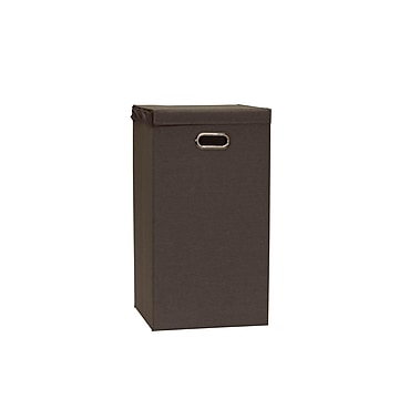 Household Essentials Collapsible Cobblestone Laundry Hamper (5636)