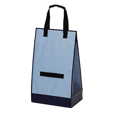 Household Essentials Blue Laundry Hamper Tote (2227-1)