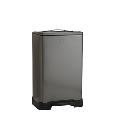 Trash Krusher 50 L Smokey Black Stainless Steel Trash Compactor (TK10XL 1)
