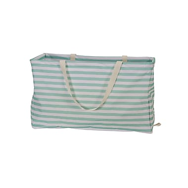 Household Essentials Krush Container Rectangle Tote Bag, Stripes (2242)