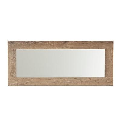 Household Essentials Ashwood Rectangular Wall Mirror (8078-1)