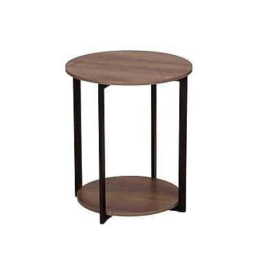 Household Essentials Ashwood Low Side Table (8080 1)