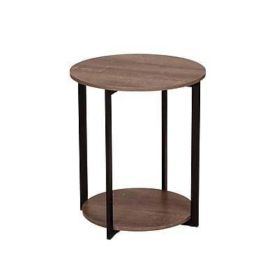 Household Essentials Ashwood Low Side Table (8080-1)