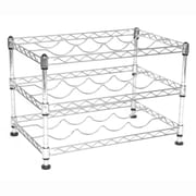Seville Classics UltraZinc, 12-Bottle, Mini Wine Rack (SHE05110ZB)