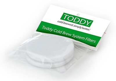 Toddy Cold Brew Coffee System Home Model Felt Filters 2-Count Pack in White (F2)