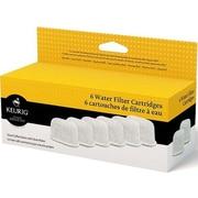Keurig 6 Pack Water Filter Cartridge Refills (5073)