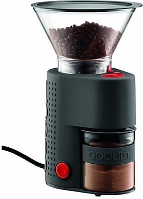 BISTRO Electric Burr coffee grinder, Black, By Bodum