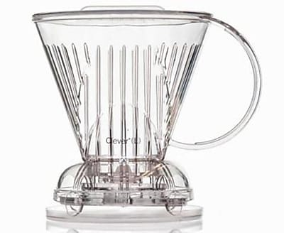 Abid Clever Coffee Dripper, Large, Clear, BPA Free Plastic, 18 Ounces (ABID-C70888A)