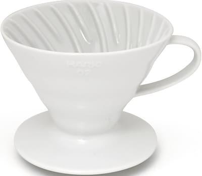 Hario V60-02 Ceramic Coffee Dripper - White (CE1001723)