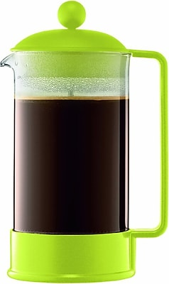 BRAZIL Coffee maker, 8 cup, 1.0 l, 34 oz., Lime Green, By Bodum (CE1000049)