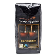 Jumping Bean Light Roast Espresso Fair Trade and Organic Coffee Bean, Whole Bean - 1 lb. (Light Roast Espresso)
