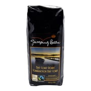 Jumping Bean Coffee East Coast Roast Fair Trade and Organic, Whole Bean - 1 lb.