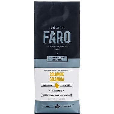 Best Tasting Faro Limited Roast Columbian Coffee Whole Beans (0.8lbs) Tierradentro Single Origin Single Farm Arabica Beans