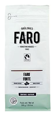Faro Forte Espresso Blend Whole Coffee Beans (10oz) Classic Delicious Neapolitan Blend Coffee, Certified Organic and Fair Trade