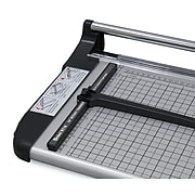 """United RT18 18"""" Rotary Paper Trimmer, 15 Sheet Capacity, Silver and Black"""