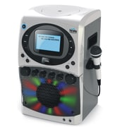 Karaoke Night Cd+G Karaoke System With Led Light Show And Black & White Monitor (Kn355A)